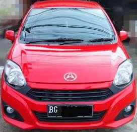 Daihatsu New Ayla M 1.0 KM 6ribu ISTIMEWAH Thn 2019 Manual Merah #agya