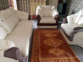 20 days used 5 seater sofa set for sale