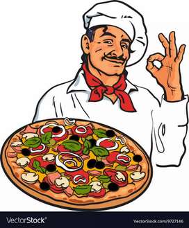 Cook ,cleaner needed for multinational Pizza Chain freshers can apply