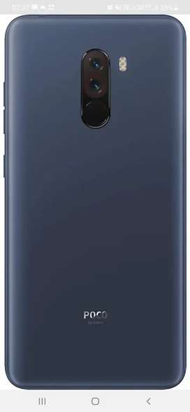 NEW POCO F1 FOR SALE WITHIN WARRANTY 13000/- ONLY