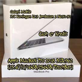 Jual/Kredit New Macbook Pro 2018 MR962 i7/16GB/256GB minat Call Wa