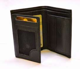 Trifold Servis Wallets - 100% Genuine Leather