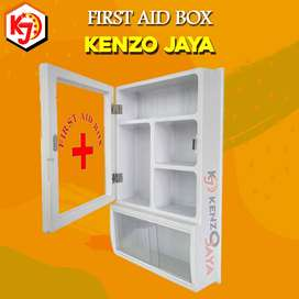 exclusive kotak obat, first aid box