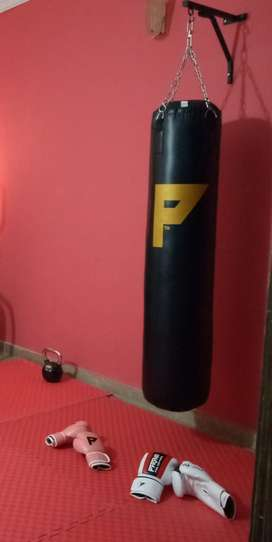 Boxing Gloves + Punching bag + Hand wrap - Boxing Gear
