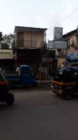 Commercial gala on kale marg kurla ghatkopar road with valid BMC tax