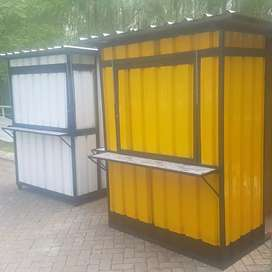Booth container murah