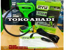 Kompresor DC RYU RCC12 Mini air compressor 12V RCC 12 colok di mobil