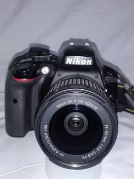 Nikon D3300 with 18-55 Lens and complete box.