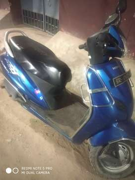 Honda activa blue colour 110cc