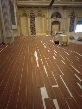 vynil lantai rumah ruangan