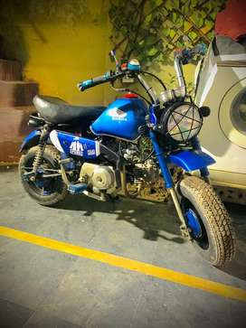 Mini bike z 50 blue colour japani