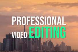edit your videos and photos professionally within few hours