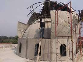 Pembuat Kubah Masjid GRC Jasa Kontraktor Profesional