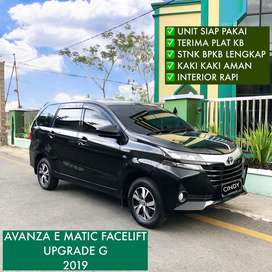 AVANZA E MATIC FACELIFT ( UPGRADE G ) 2019