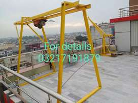 Material lifting machine
