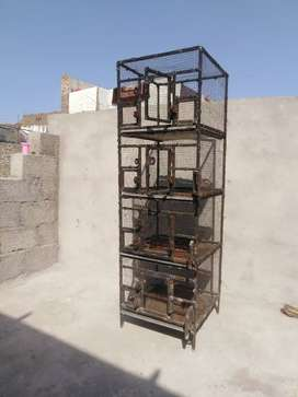 Tower Metal cage