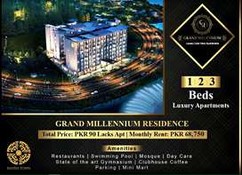 1 Bed Furnished Apartment with 68,750 per Month Rent