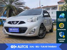 [OLXAutos] Nissan March 1.5 A/T 2014 Silver