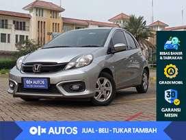 [OLX Autos] Honda Brio 1.2 E Satya A/T 2016 Abu-abu