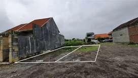 Tanah siap bangun wage Sidoarjo surabaya , luas 100 meter ,  200 meter