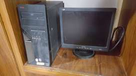 """""""MONITOR AND CPU FOR SALE"""""""