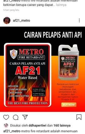 Cairan Pelapis Anti Api Metro AF21 ( Distributor Resmi )