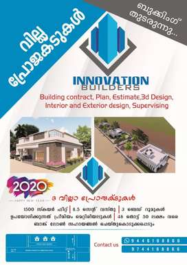 On Going Villa Projects Final Stage