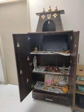Pooja room cupboard