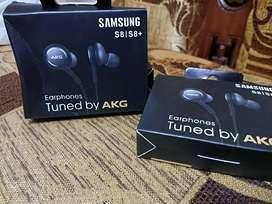 earphone headset samsung akg S8 S9 S10 telepon & musik kualitas OK