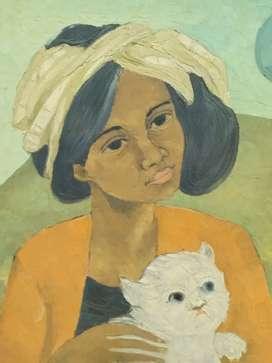 Lukisan tua karya T.Ganar