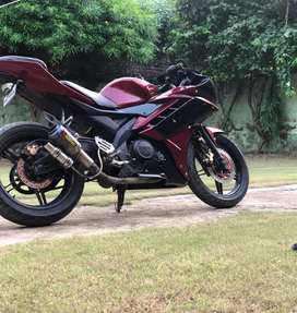 New good condition and full modified bike for Yamaha R15