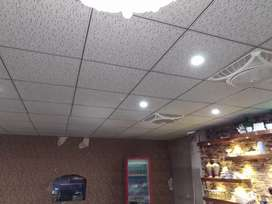 False Ceiling, wallpaper, Pvc paneling