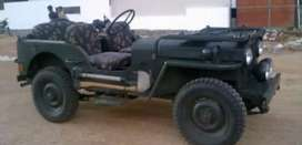 Willy modified black jeep