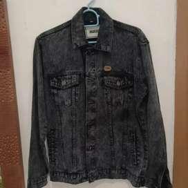 Jaket jeans maxius