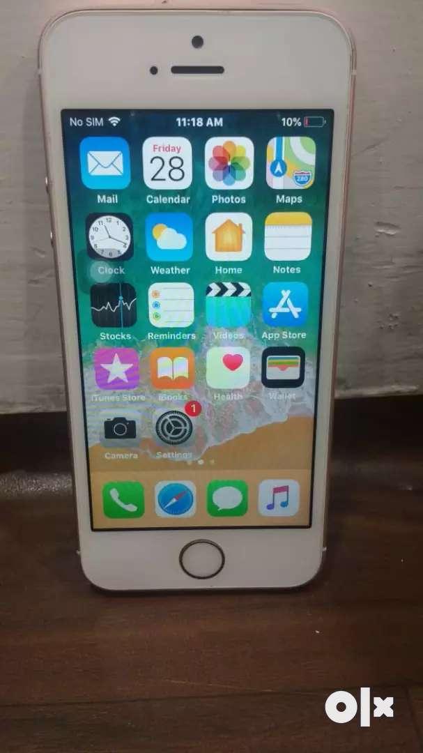 IPhone SE 32GB rose gold colour 0
