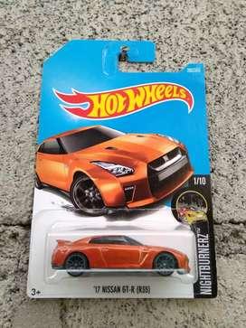 Hotwheels Nissan GTR R35