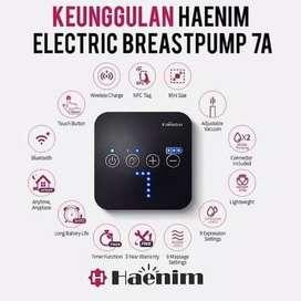 Haenim Breastpump 7A Pompa Asi Electric - Putih