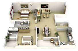 Two Bed Apartment for Sale in Gulberg Greens Islamabad.