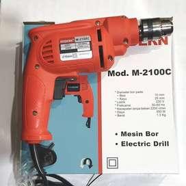 MESIN BOR MODERN 10mm (2 ARAH / BOLAK-BALIK) M2100C