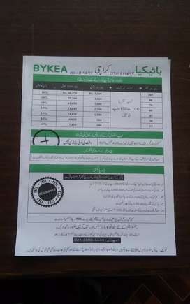 Free registration in bykea...