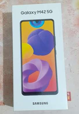 Samsung Galaxy M42 5G (Prism Dot Gray, 8GB RAM, 128GB Storage)