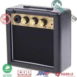PG-5 Amplifier Mini Gitar Elektrik Volume Tone Control 5W