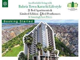 Sale , 2 Bed Luxury Apartment in Bahria Central Park Apartments