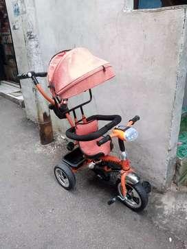 Jual cepat sepeda anak merk exotic