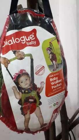 Baby walker pocket