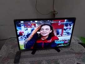 Led tv Sharp aquos 24inc garansi bisa tukar tambah