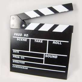 Woopower Profesional Clapper Board Classical Movie Film