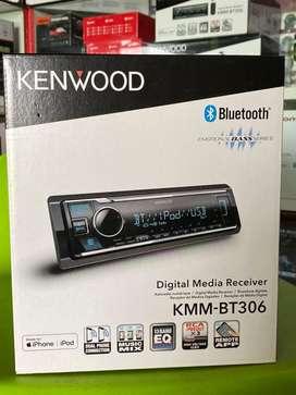 Kenwood Kmm 306Bt single din Bluetooth | Plus Pasang