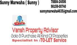 2 bhk with servant room for rent in gurdev nagar