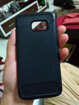 Samsung S7 edge back cover case Spigen